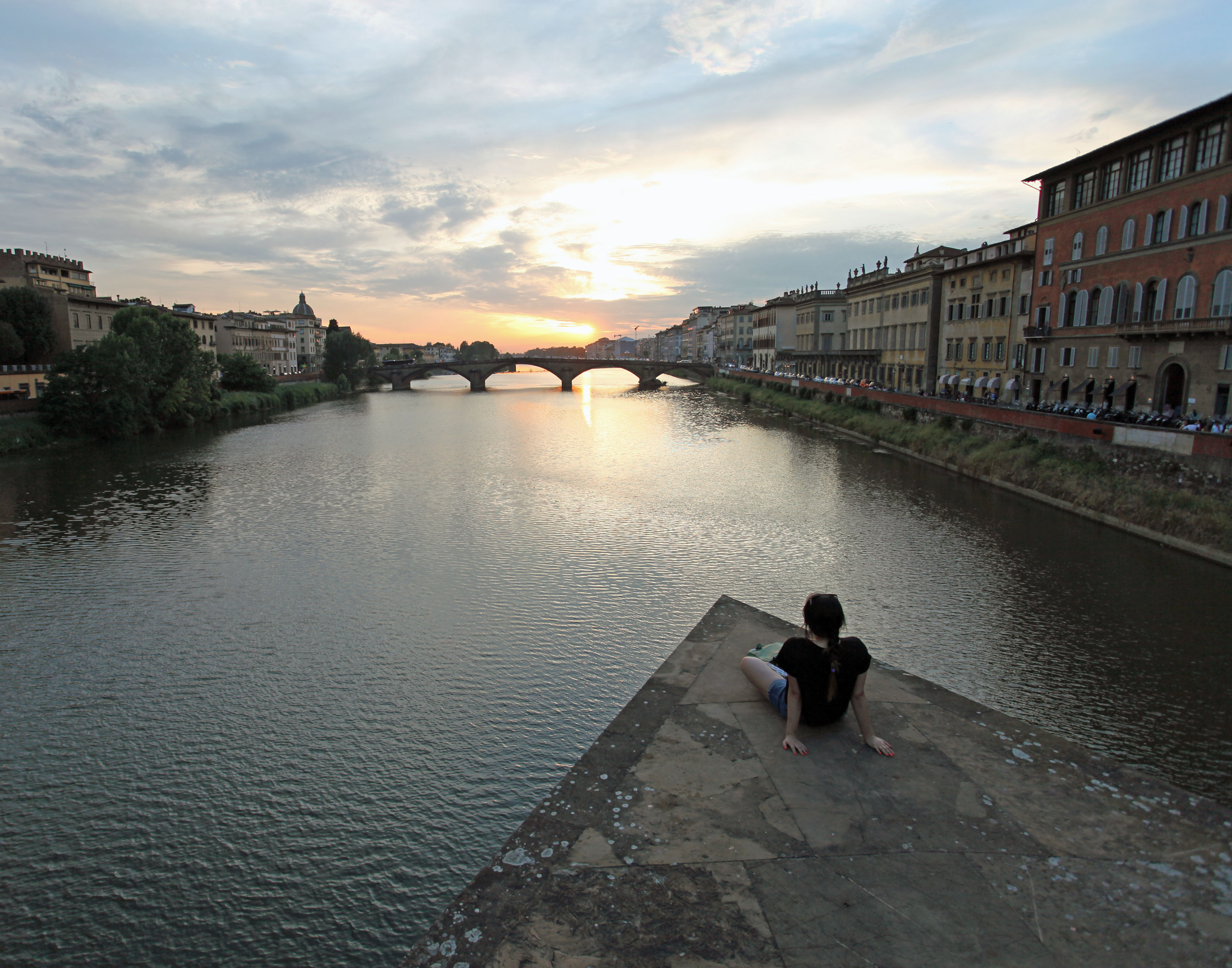 Arno River in Florence