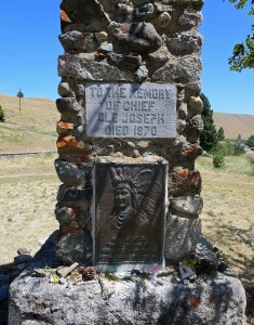 Old Chief Joseph's grave