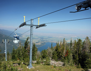 Wallowa Lake tramway