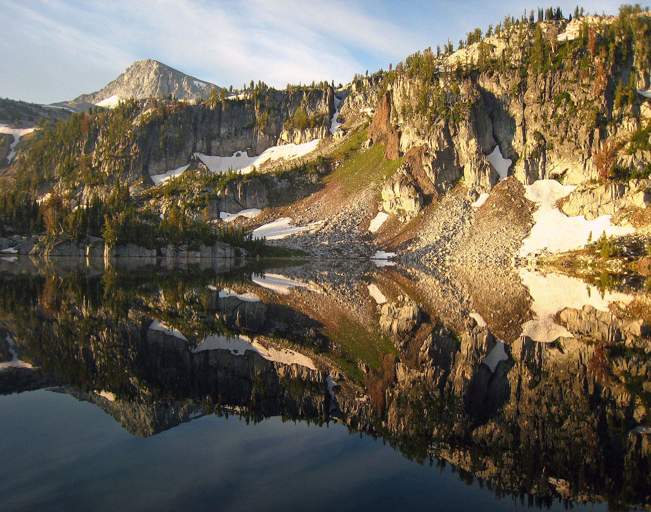 Eagle Cap and Mirror Lake