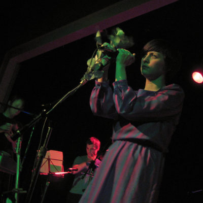 Tracyanne Campbell and Camera Obscura perform at the Wonder Ballroom in Portland, Oregon.