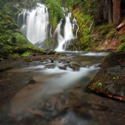 National Creek Falls in southern Oregon.